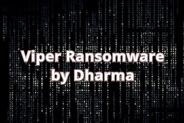 remove Viper ransomware