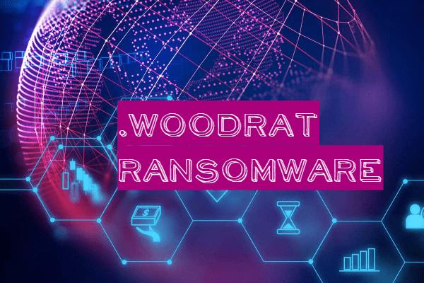 remove Woodrat ransomware