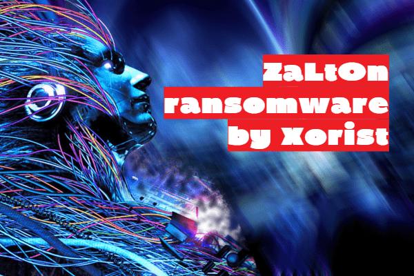 supprimer le ransomware ZaLtOn