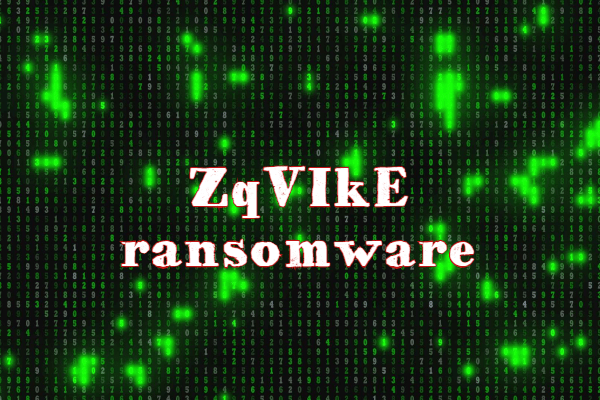 remover o ransomware ZqVIkE