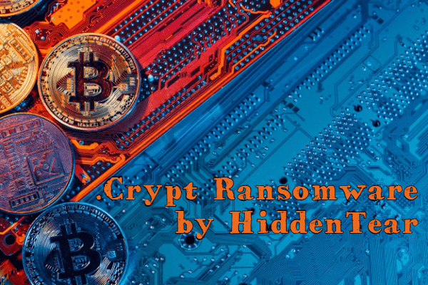 eliminar Crypt ransomware