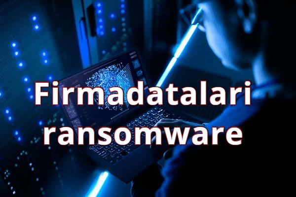 eliminar Firmadatalari ransomware