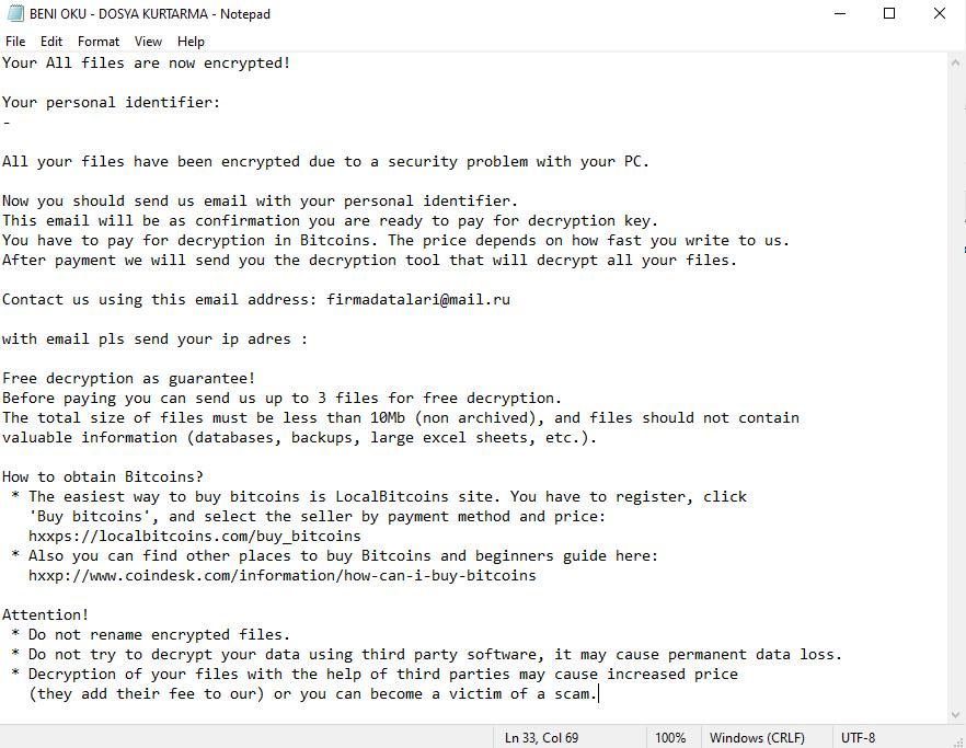 desencriptar archivos .Firmadatalari