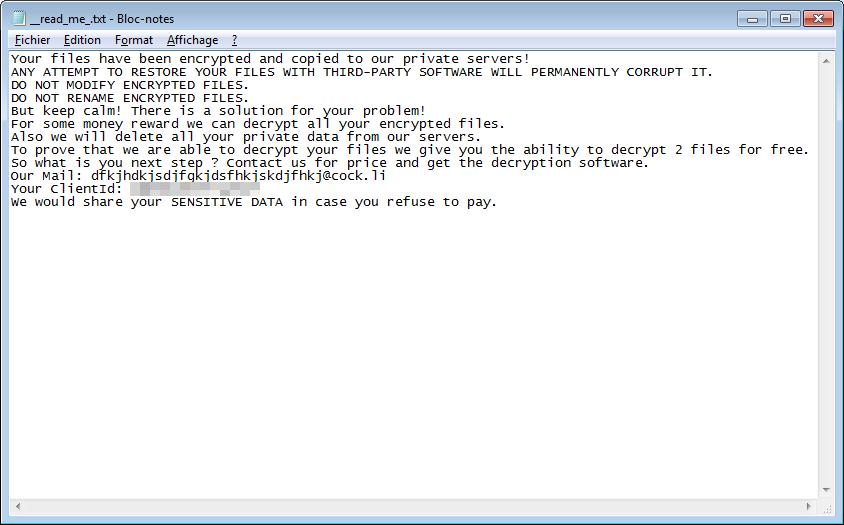 decrypt .howareyou files