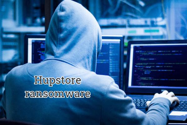 remove Hupstore ransomware