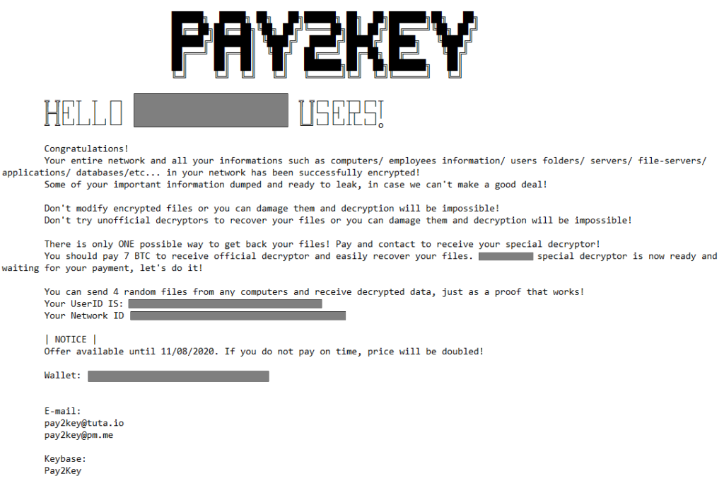 desencriptar archivos .Pay2key