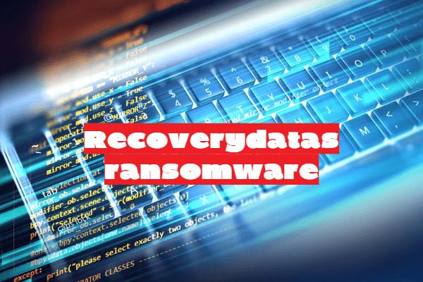 remove Recoverydatas ransomware