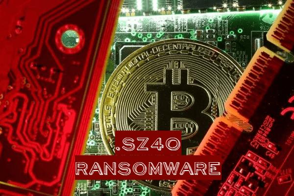 remove SZ40 ransomware