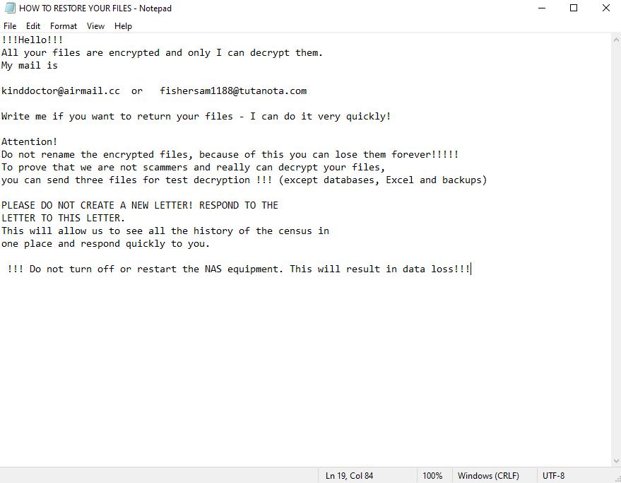 decrypt .Thcuhswza files