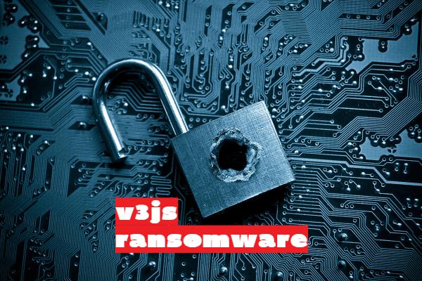 remove V3JS ransomware