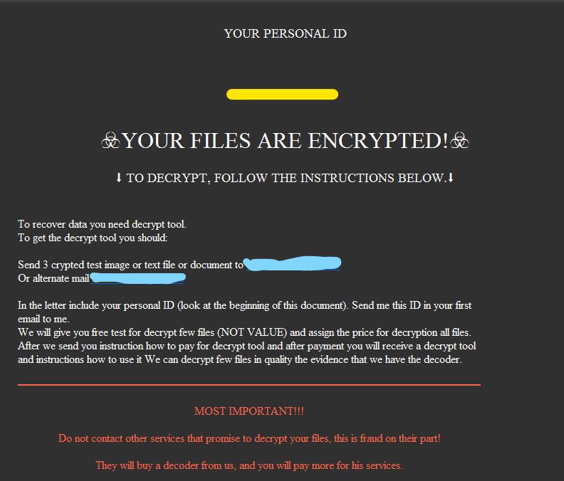 desencriptar archivos .yaya