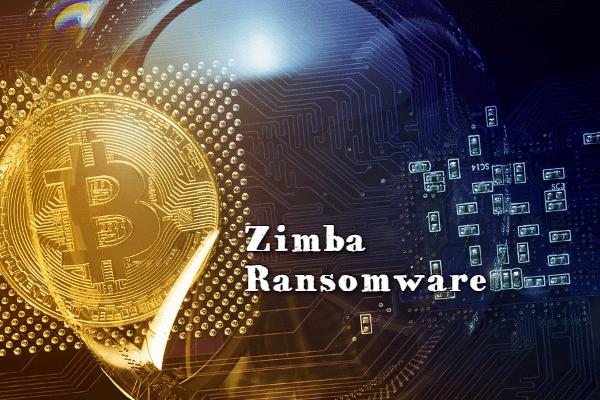 remove Zimba ransomware