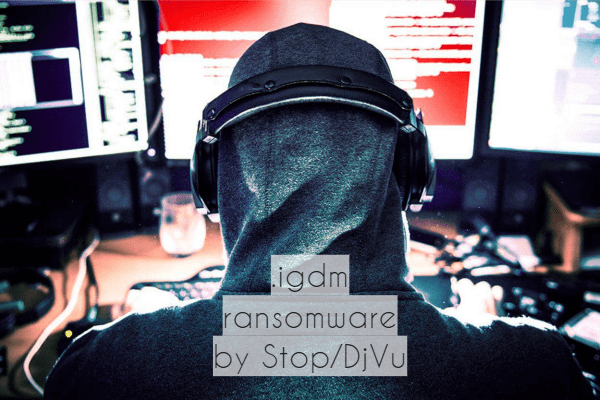 remove Igdm ransomware