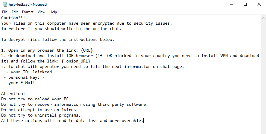 decrypt .Leitkcad files