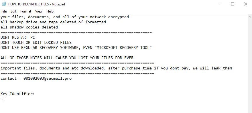 decrypt .thanos files