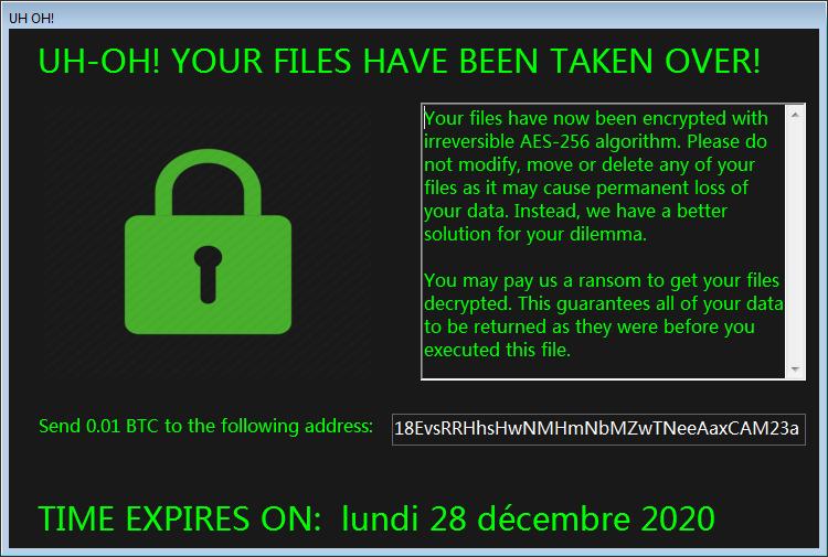 decrypt .Uh-Oh files