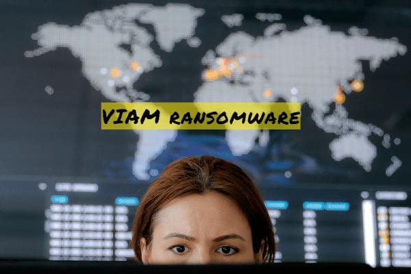 remove VIAM ransomware