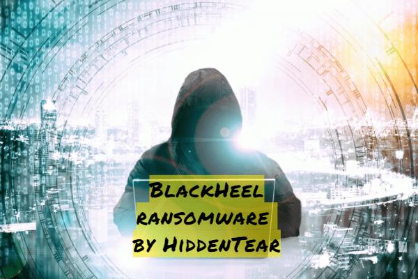 remove BlackHeel ransomware
