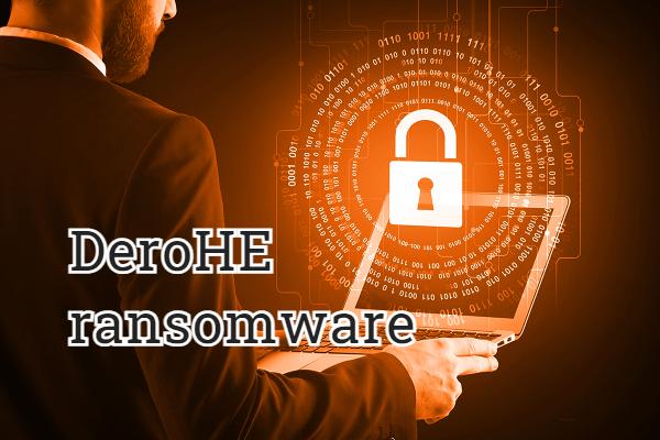 remove DeroHE ransomware