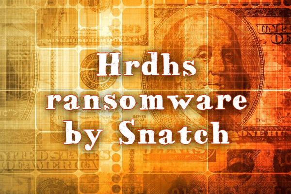 remove Hrdhs ransomware