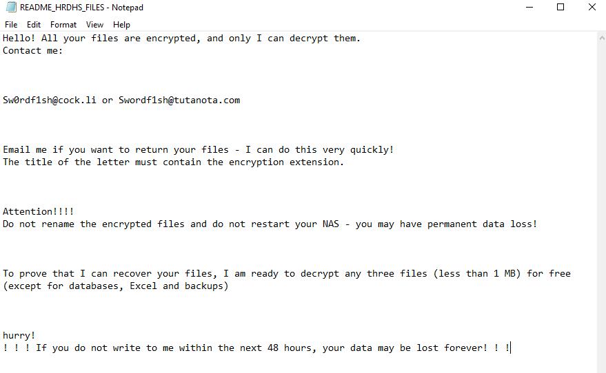 decrypt .Hrdhs files