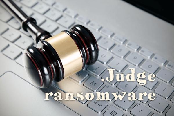 remove Judge ransomware
