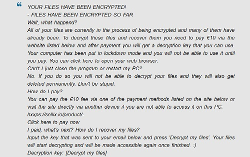 how to remove namaste ransomware