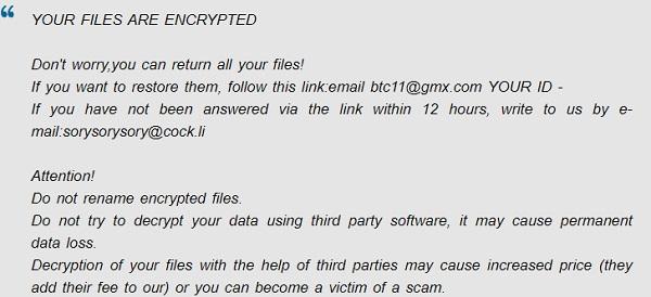 remove wcg ransomware