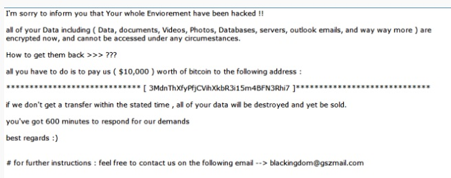 remove blackkingdom ransomware
