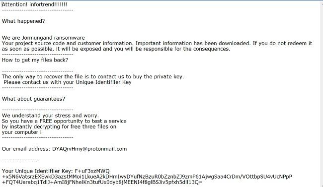jormungand ransomware