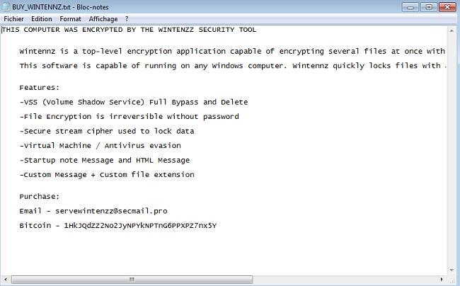 remove wintenzz ransomware