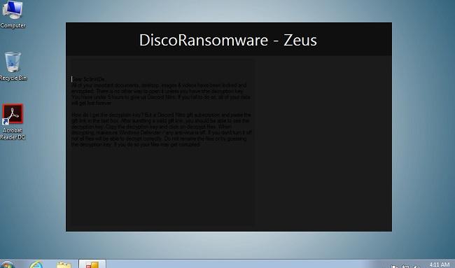 remove disco ransomware