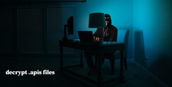 decrypt apis files