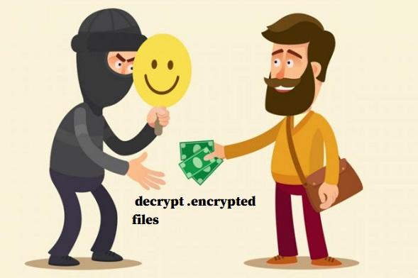 decrypt encrypted files
