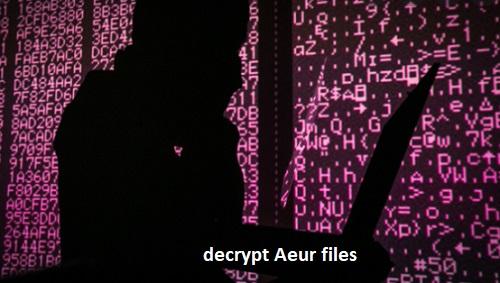 decrypt aeur