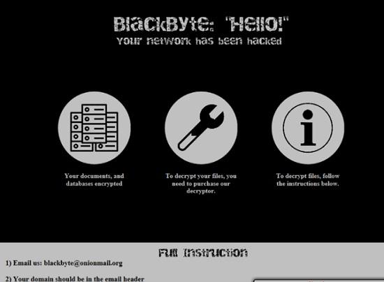 decrypt blackbyte virus