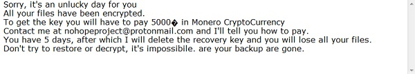 decrypt nohope files