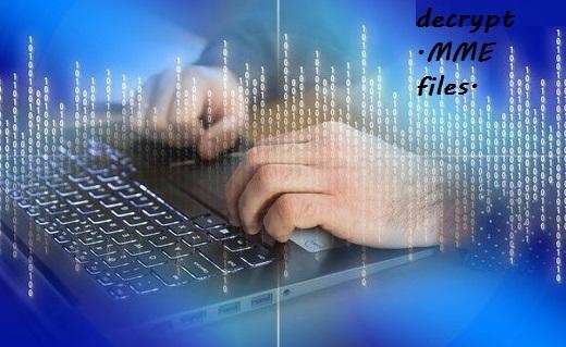 decrypt mme files