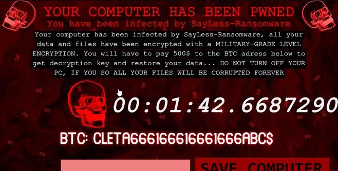 remove sayless virus